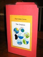 mini file folder games for church