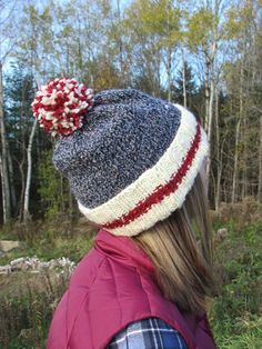 True Canadian style- Toque On the Rocks FREE pattern