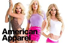 Willam, Alaska and Courtney Act for American Apparel