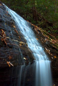 Desoto Falls in the North Georgia Mountains