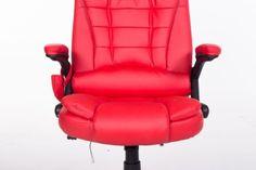 Heated-Ergonomic-Computer-Desk-Office-Massage-Chair-adjustable-Remote-wheels