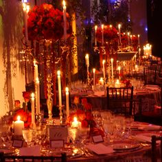 David Tutera Designed Phantom of the Opera wedding! | http://www.mybigdaycompany.com/weddings.html