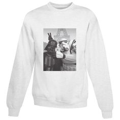 5d40fb67c9c For Sale Darth Vader And Stormtrooper Star Wars Selfie Sweatshirt