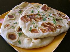 homemade naan--definitely making this