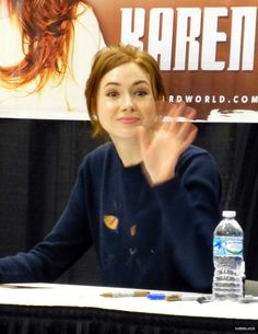 Karen Gillan at Wizard World Cleveland on February 21st, 2015.