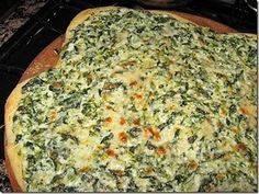 Spinach Alfredo Pizza Sauce