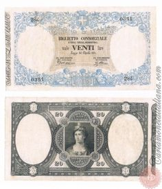 20 LIRE - 1874