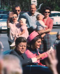 JFK & Jackie in Dallas-November 22 1963