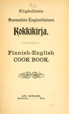 Täydellisin suomalais-Englantilainen kok-kikirj...