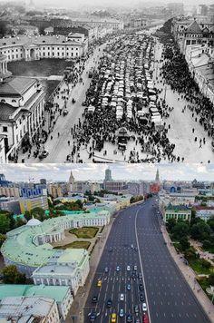 Садовая-Спасская. Москва меняется.