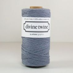 Solid Color Divine Twine (Gray)