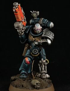 Warhammer Figures, Warhammer Models, Warhammer 40k Miniatures, Warhammer 40000, Warhammer Deathwatch, Miniaturas Warhammer 40k, Dark Brotherhood, Space Marine, War Machine