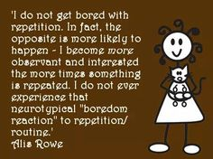 There is much to be learned from repetition
