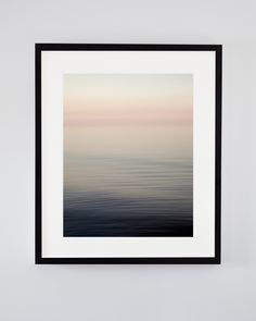 Playful abstract seascape art photograph one summer evening on Lake Erie to add a bit of fun ombre pink to a room while still being soothing and peaceful. Pink Abstract, Abstract Flowers, Abstract Art, Fine Art Photography, Landscape Photography, Nautical Prints, Seascape Art, Impressionist Landscape, Coastal Art