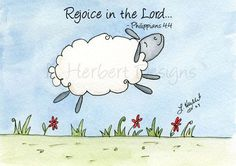 Rejoice in the Lord.      Philippians 4:4