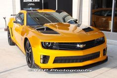ZL1 Camaro. By far the meanest version of Bumblebee yet
