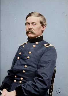 John Buford, Jr. was a Union cavalry officer during the American Civil War, with a prominent role at the start of the Battle of Gettysburg