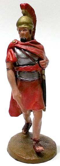 """Santippo di Cartagine alla battaglia di Tunisi, 255 a.C., numero 98 della collezione """"Roma e i suoi nemici"""" (2011 Vadis) #Miniatures #Figures #AncientRome #OspreyPublishing"""