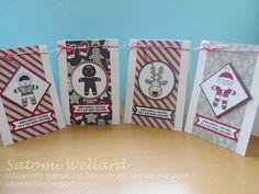 Satomi Wellard-Independent Stampin'Up! Demonstrator Australia and Japan, #stampinup, #su, #satomiwellard, #cardmaking, #papercrafing , #handmade, #cookiecutterchristmas #chrsitmascard