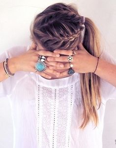 fun french braids