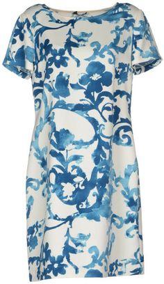Moschino Cheap & Chic White Short Dress
