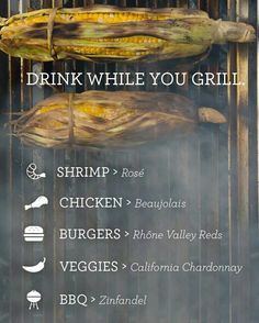Drink while you grill
