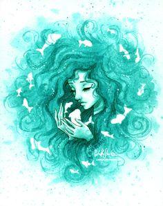 Turquoise by Loonaki.deviantart.com on @DeviantArt