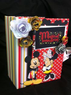 My Kathy Orta inspired Disney scrapbook.