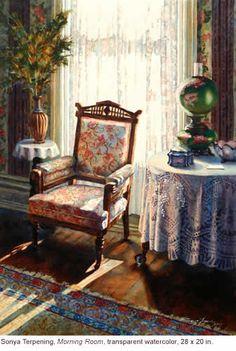Sonya Terpening - Morning Room - painting