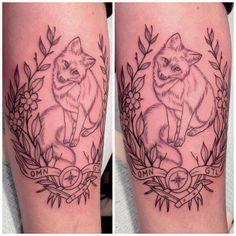 Fox tattoo. Love