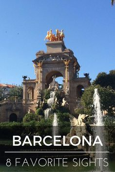 My son fell in love with Barcelona at first sight. I fall in love every time I return. Each of these 8 places to visit in Barcelona are a memory to us. (via @tripprblog)