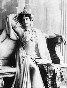 "Mata Hari - Mata Hari was an exotic dancer and courtesan who was arrested by the French and executed for espionage during World War I. After her death, her stage name, ""Mata Hari,"" became synonymous with spying and espionage."