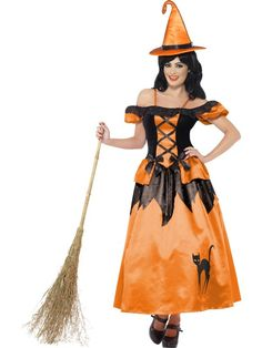 Storybook Witch Costume at funnfrolic.co.uk - £51.29
