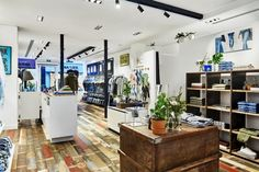 This is DENHAM's eighth store in the Netherlands and reflects the brand's commitment to expanding its presence across the country. It showcases DENHAM's latest collections for men, women and kids, with a full offering of jeans that ranges from dark virgin denim to love-worn washes.