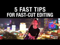 Filmmaker Brandon Li shares his five killer tips for making your fast-cut video edits more exciting and consistent every time you need to utilize this compelling video editing technique. Film Tips, Film Photography Tips, Film Blade Runner, Indie Films, Photo Class, Digital Film, Best Cinematography, Acting Tips, Film School