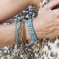 artjuna boho jewelrytribal brass braceletbeaded by artjuna on Etsy