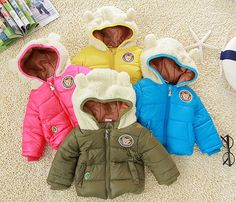 Freeshipping,baby cotton-padded coat,children jacket,boy and girl outwear on AliExpress.com. $19.90