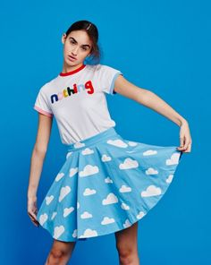 Don't Hug Me I'm Scared for Lazy Oaf Cloud Skirt - DHMIS for Lazy Oaf - Collections - Womens