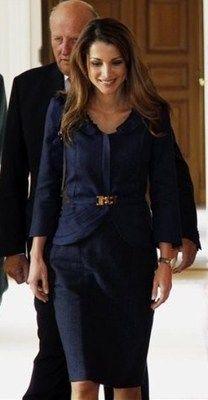 Royalty Fashion: Queen Rania of Jordan