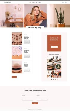 Life Blog | Wix Website Template
