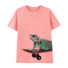 103202f62 Carter's Boys Round Neck Short Sleeve Graphic T-Shirt Preschool / Big Kid -  JCPenney