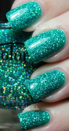 Turquoise & Teal sparkle!