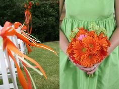 amber procaccini photography: Lime Green & Orange!