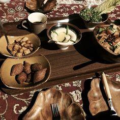 Dubai desert traditional meal #desert #safari #dubai