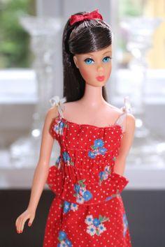 Barbie Life, Barbie World, Barbie And Ken, Vintage Barbie Clothes, Vintage Dolls, Hair Fair, Barbie Family, Barbie Friends, Barbie Dress