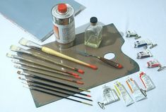 Oil Painting Supplies List For Beginners