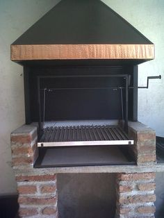 Outdoor Bbq Kitchen, Outdoor Oven, Outdoor Kitchen Design, Outdoor Cooking, Barbecue Design, Grill Design, Parilla Grill, Smokehouse Grill, Parrilla Exterior