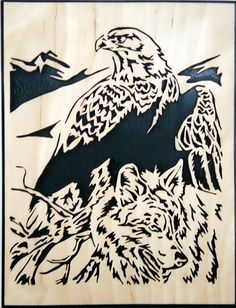 The Eagle and the Wolf - Le Chantourneur Lorrain