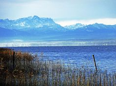 Ammersee, Alpen, Germany