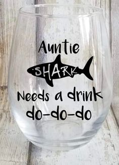 mama shark stemless wine glass, Christmas gifts for Mom, stocking stuffers for wife, expecting mom gift, funny wine gifts for women - Family gifts - Birthday&Gifts Christmas Gifts For Aunts, Valentine Gifts For Mom, Christmas Mom, Christmas Presents, Christmas Sweaters, Christmas Crafts, Cool Gifts For Women, Gifts For New Moms, Gifts For Wife